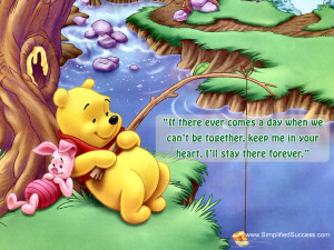 Download Winnie the Pooh and Piglet Wallpaper