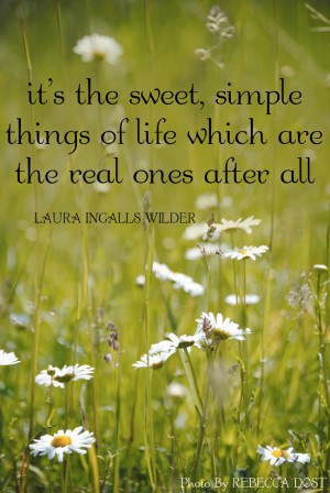 Quotes About Life: The Simple Things