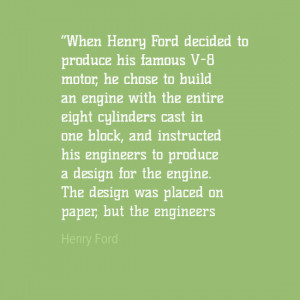 Engineering Quotes - Henry Ford