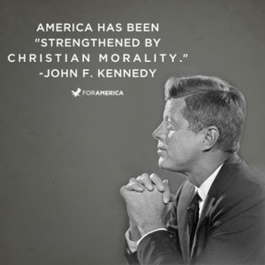 John F. Kennedy on Christian Morality