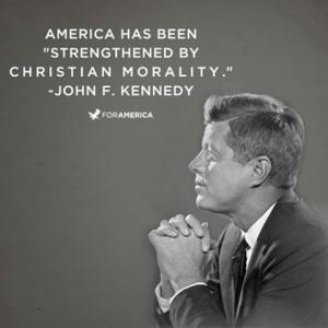 John F. Kennedy on Christian Morality