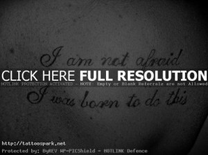 Back to Post :Tattoo Quotes and Sayings Ideas and Inspiration