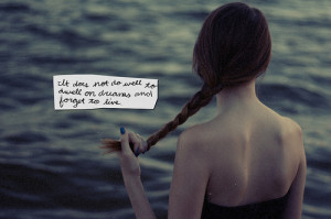cute, girl, girl hair, quote, typography