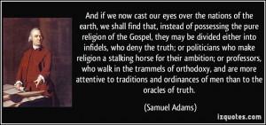 Adams Quotes On Religion