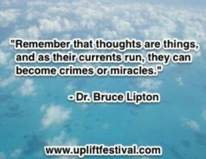 Dr Bruce Lipton on miracles
