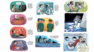 love this illustrated Chris Hadfield quote that Gavin Aung Than from ...