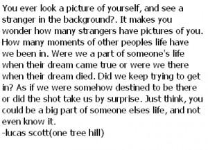Lucas Scott Quotes