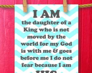 Christian Quotes For Teen Girls Nursery art print baby girl