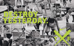 Nike Track And Field Posters Nike track and field