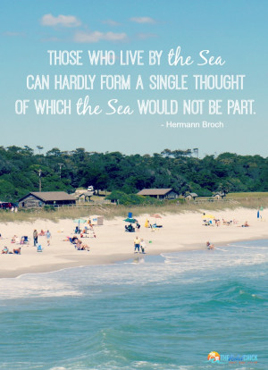 hermann broch quote about living by the sea