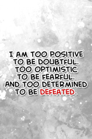 Motivation Monday - Positive Vibes!