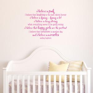 Five Favorites {Girl's Room Decals}