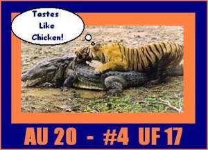 Auburn Tiger Vs Florida Gator Picture