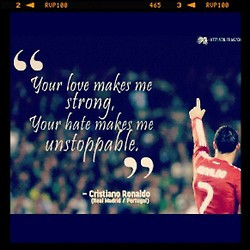 quotes #cr7 #football (Taken with Instagram )