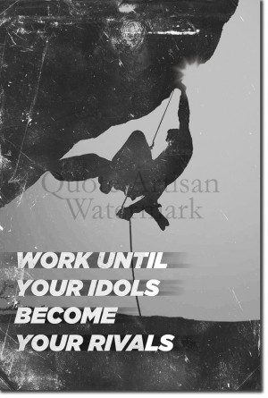 Motivational Rock Climbing Quote 2