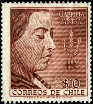Namesake: Gabriela Mistral