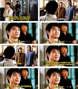 Kevin: Supernatural Kevin Trans, Dean Kevin, Quote, Dramas, Kevin ...