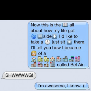 My good morning text to my bestfriend.