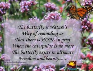 Girls Are Like Butterflies Poem | visit thegrieftoolbox com