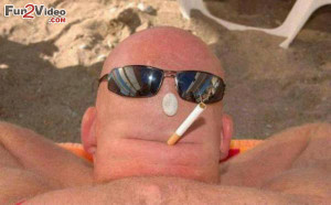 Bald Head Funny Man Humorous Picture Which is very Hilarious and This ...