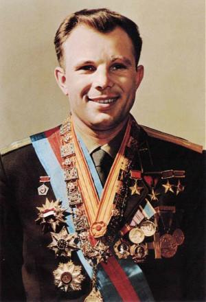 Yuri Gagarin, el primer hombre queviajó al espacio.