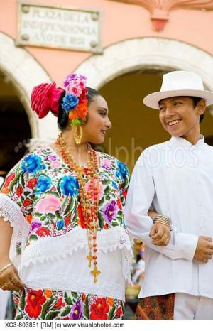 traditional_mexican_folk_dancing_display_merida_yucatan_mexico_XG3 ...