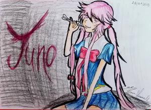 Yuno Gasai From Mirai Nikki