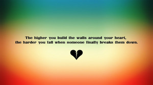 soft broken heart quotes