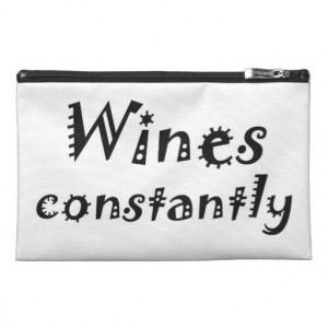 Funny humour quotes gifts cosmetic bags joke gift