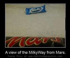 Title: Milky Way view from Mars [Funny Pictures]