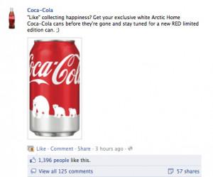Coca Cola Polar Bear