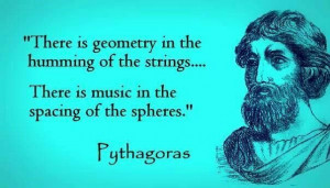... for even the sweetest honey goes sour in a dirty container. Pythagoras
