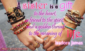 Topics: Life Picture Quotes , Sisters Picture Quotes