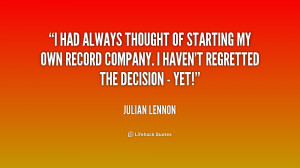 Julian Lennon Quotes