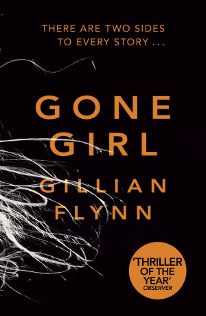 GONE GIRL | SALTY POPCORN BOOK REVIEW | GONE GIRL BOOK COVER IMAGE