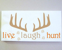 ... Hunt, Hunting Gift, Outdoorsy, Deer Antler, Father's Day, Husband, Dad