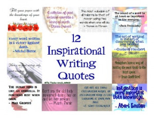 ... Inspirational Writing Quotes for Students . Inspirational Writing