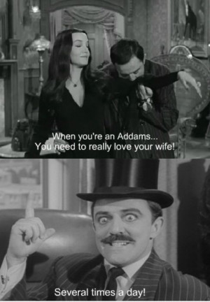 Tell us how do you think Morticia and Gomez would spend Valentine's ...