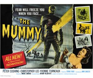 vintage movie poster, 'The Mummy'