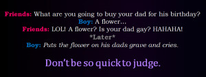 Don't Be So Quick To Judge :( by bookworm16016
