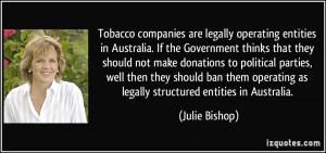 More Julie Bishop Quotes