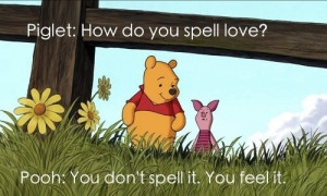 art, draw, love, lovely, pooh, quotes