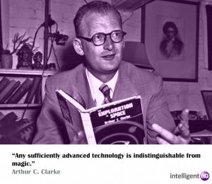 Quote By Arthur C. Clarke. Intelligenthq