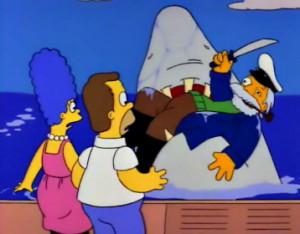 Simpsons Sea Captain