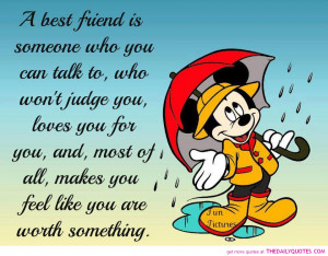 mickey mouse quotes sayings best friend true