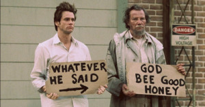 Morgan Freeman Bruce Almighty Quotes Hobo in bruce almighty.