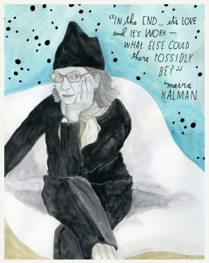 Maira Kalman quote on The Reconstructionists   Cool Mom Picks