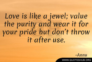Love Like Jewel Quotes...
