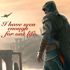 ... quote wallpaper, Assassin's Creed: Revelations, Ezio Auditore da