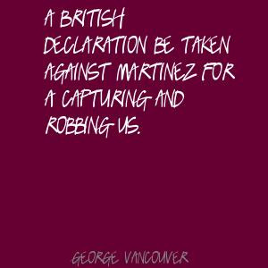 George Vancouver's quote #1